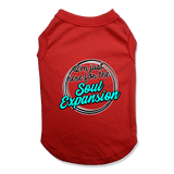 I'M JUST HERE FOR THE SOUL EXPANSION - DOG TANK TOP Dog Tank Red / XS DEARSOUL