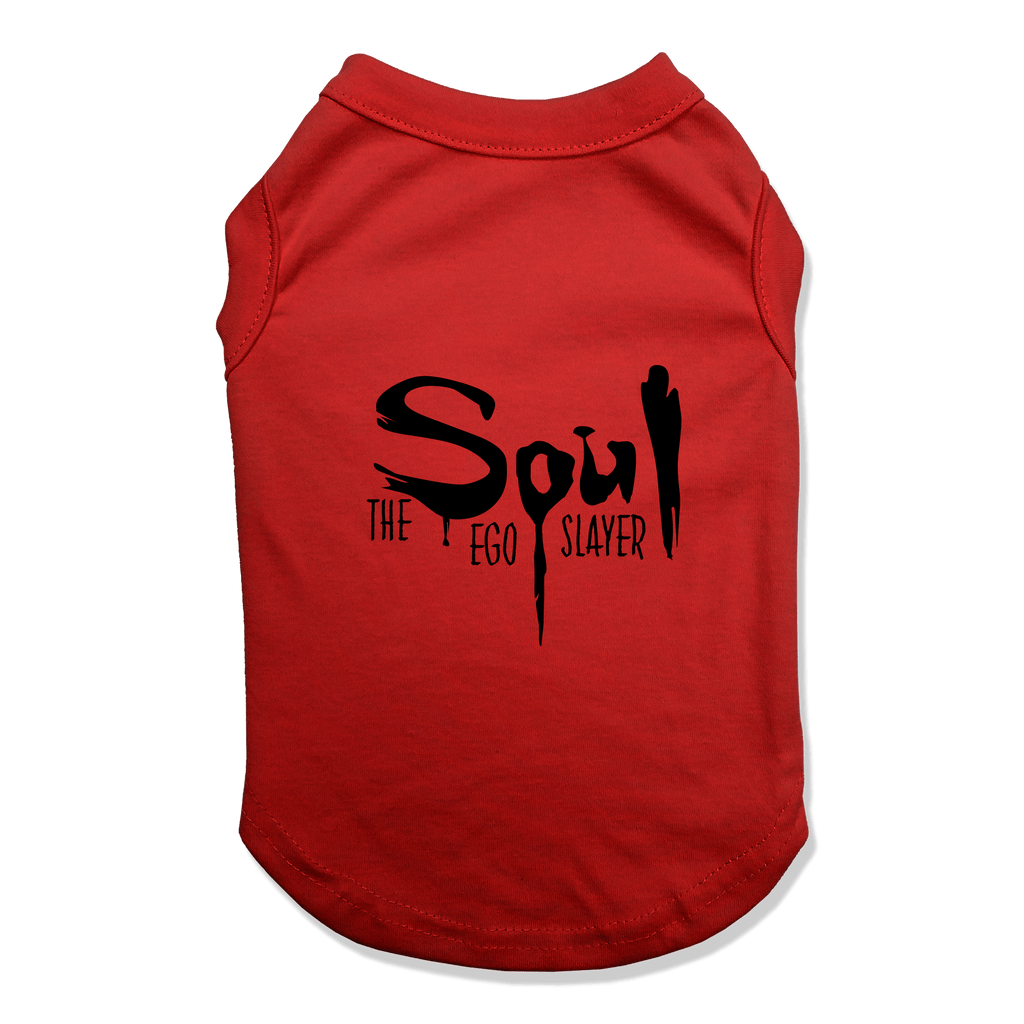 SOUL THE EGO SLAYER - DOG TANK TOP Dog Tank Red / XS DEARSOUL
