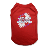 SUPER POWER - DOG TANK TOP Dog Tank Red / XS DEARSOUL