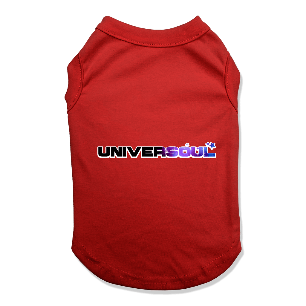 UNIVERSOUL - DOG TANK TOP Dog Tank Red / XS DEARSOUL