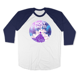 HOLY SHIFT-UNISEX RAGLAN - AMERICAN APPAREL DEARSOUL