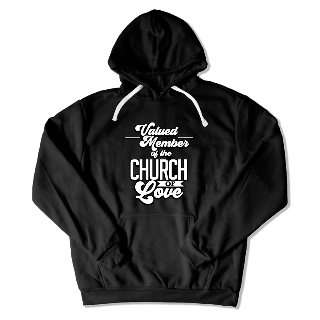 CHURCH OF SOUL - HOODIE HOODIE Black / S DEARSOUL