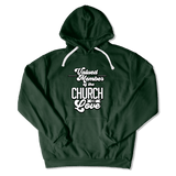 CHURCH OF SOUL - HOODIE HOODIE Forest Green / S DEARSOUL