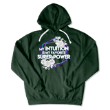 SUPER POWER - HOODIE HOODIE Forest Green / S DEARSOUL