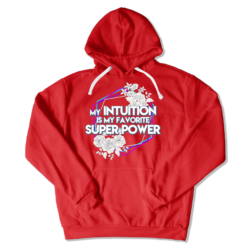 SUPER POWER - HOODIE HOODIE Red / M DEARSOUL
