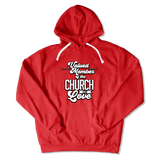 CHURCH OF SOUL - HOODIE HOODIE Red / S DEARSOUL