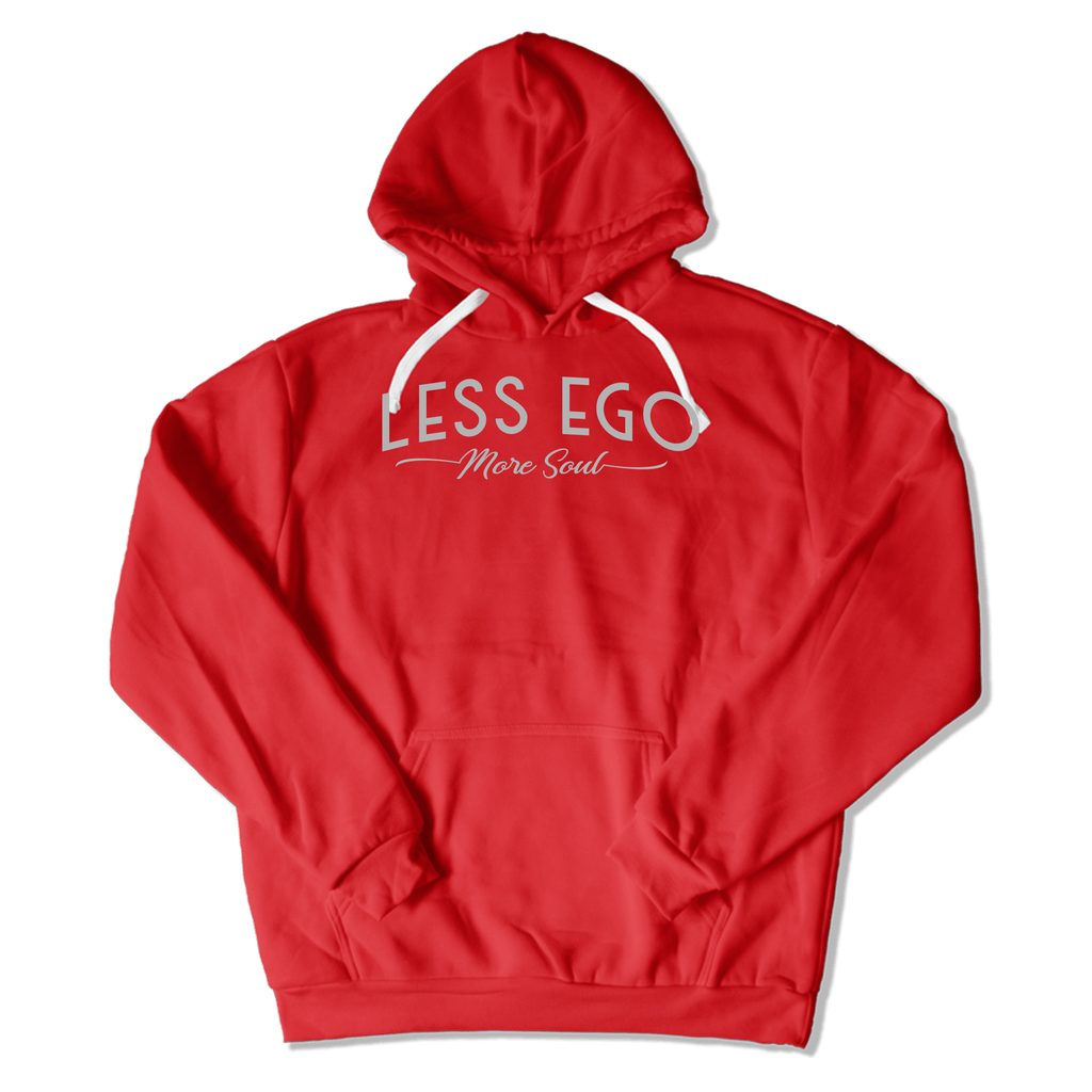 LESS EGO MORE SOUL - HOODIE HOODIE Red / S DEARSOUL
