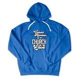 CHURCH OF SOUL - HOODIE HOODIE Royal / S DEARSOUL