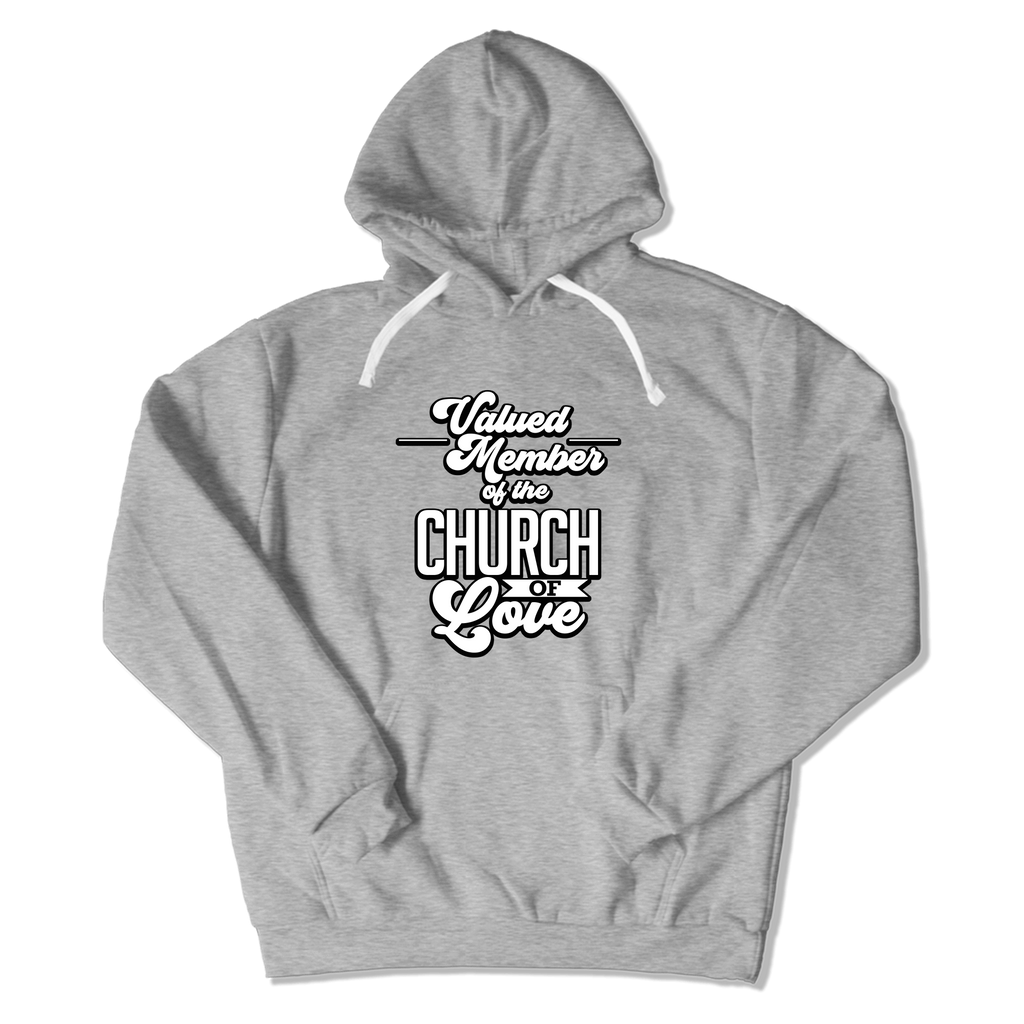 CHURCH OF SOUL - HOODIE HOODIE Sport Grey / S DEARSOUL