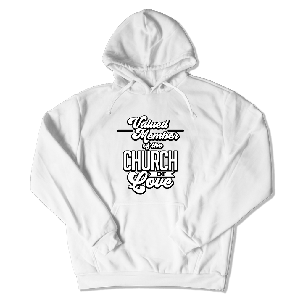 CHURCH OF SOUL - HOODIE HOODIE White / S DEARSOUL