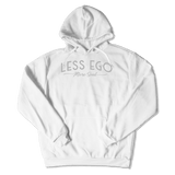 LESS EGO MORE SOUL - HOODIE HOODIE White / S DEARSOUL