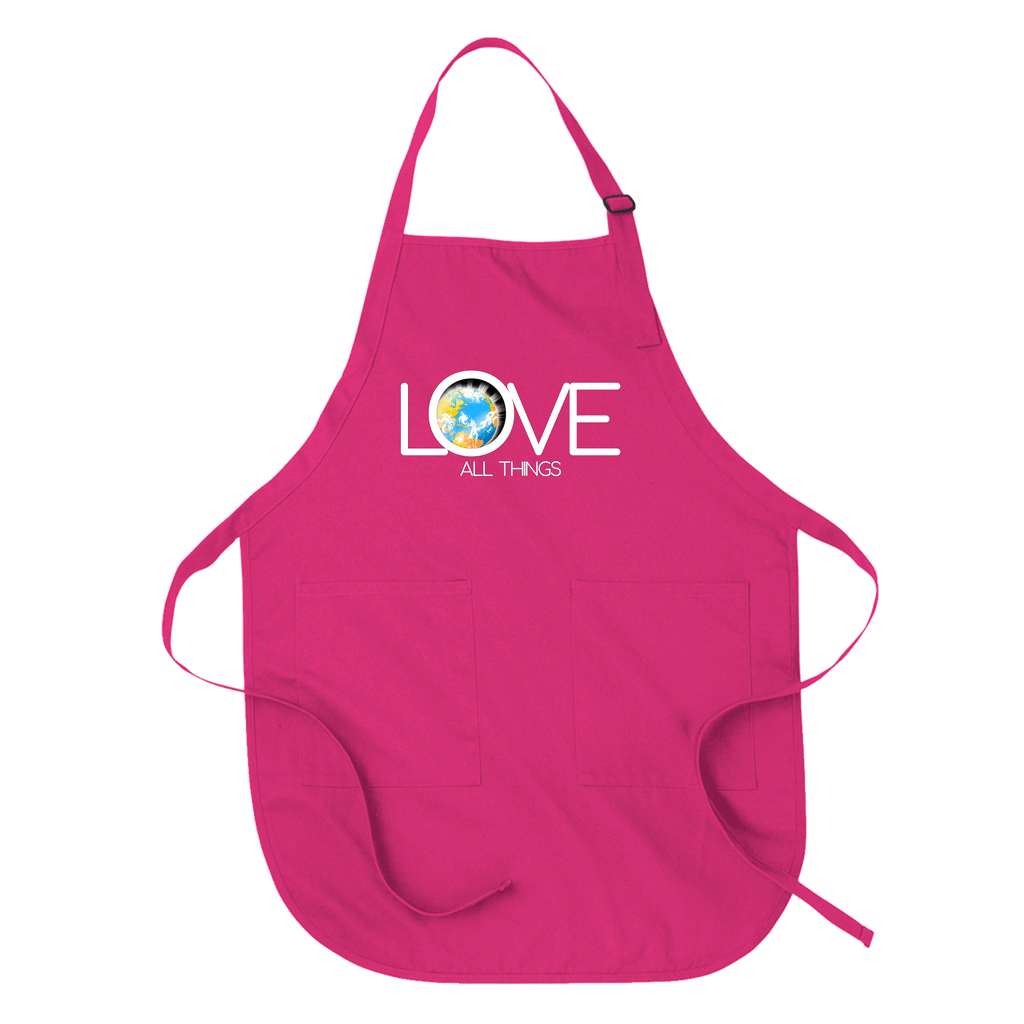 LOVE ALL THINGS - APRON Hot Pink DEARSOUL
