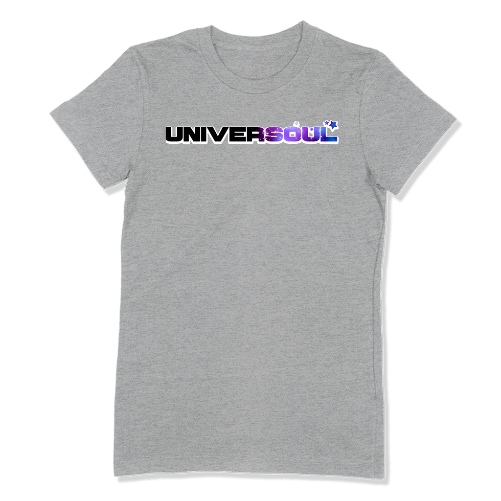UNIVERSOUL - LADIES T-SHIRT LADIES T-SHIRT Athletic Heather / S DEARSOUL