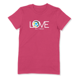 LOVE ALL THINGS - LADIES T-SHIRT LADIES T-SHIRT Berry / S DEARSOUL