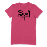 SOUL THE EGO SLAYER - LADIES T-SHIRT LADIES T-SHIRT Berry / S DEARSOUL