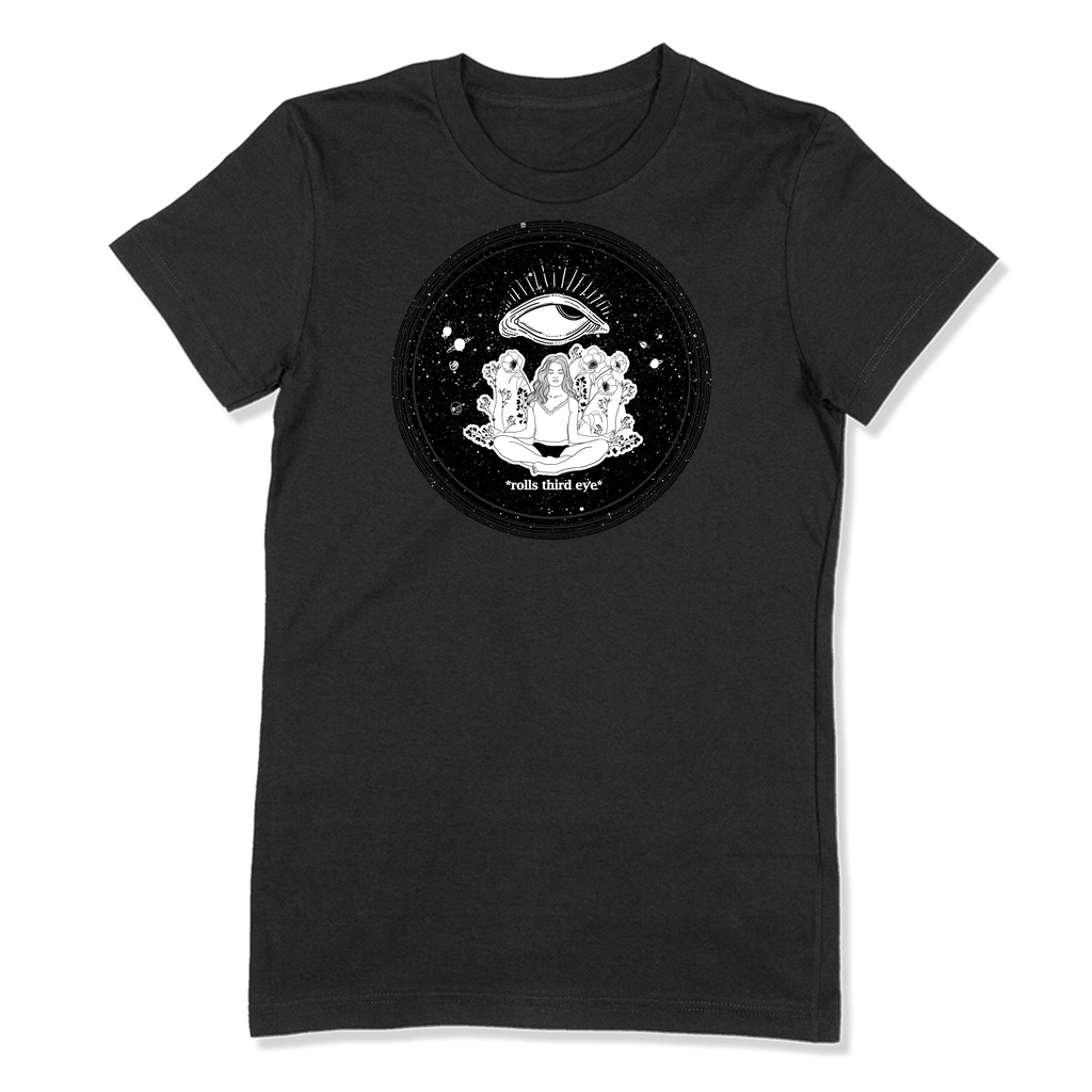 ROLLS 3RD EYE - LADIES T-SHIRT LADIES T-SHIRT Black / S DEARSOUL