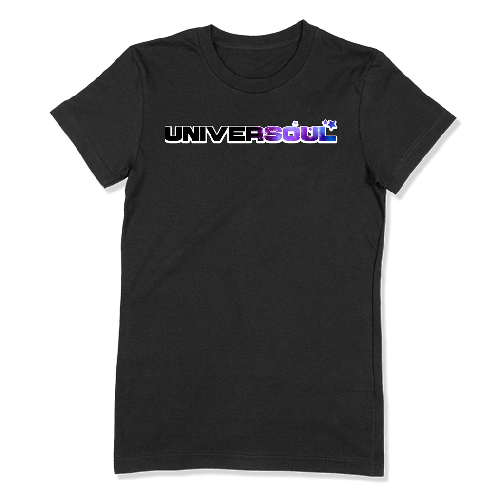 UNIVERSOUL - LADIES T-SHIRT LADIES T-SHIRT Black / S DEARSOUL