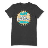 ALL I CARE ABOUT IS SOUL EXPANSION - LADIES T-SHIRT LADIES T-SHIRT Dark Grey Heather / S DEARSOUL