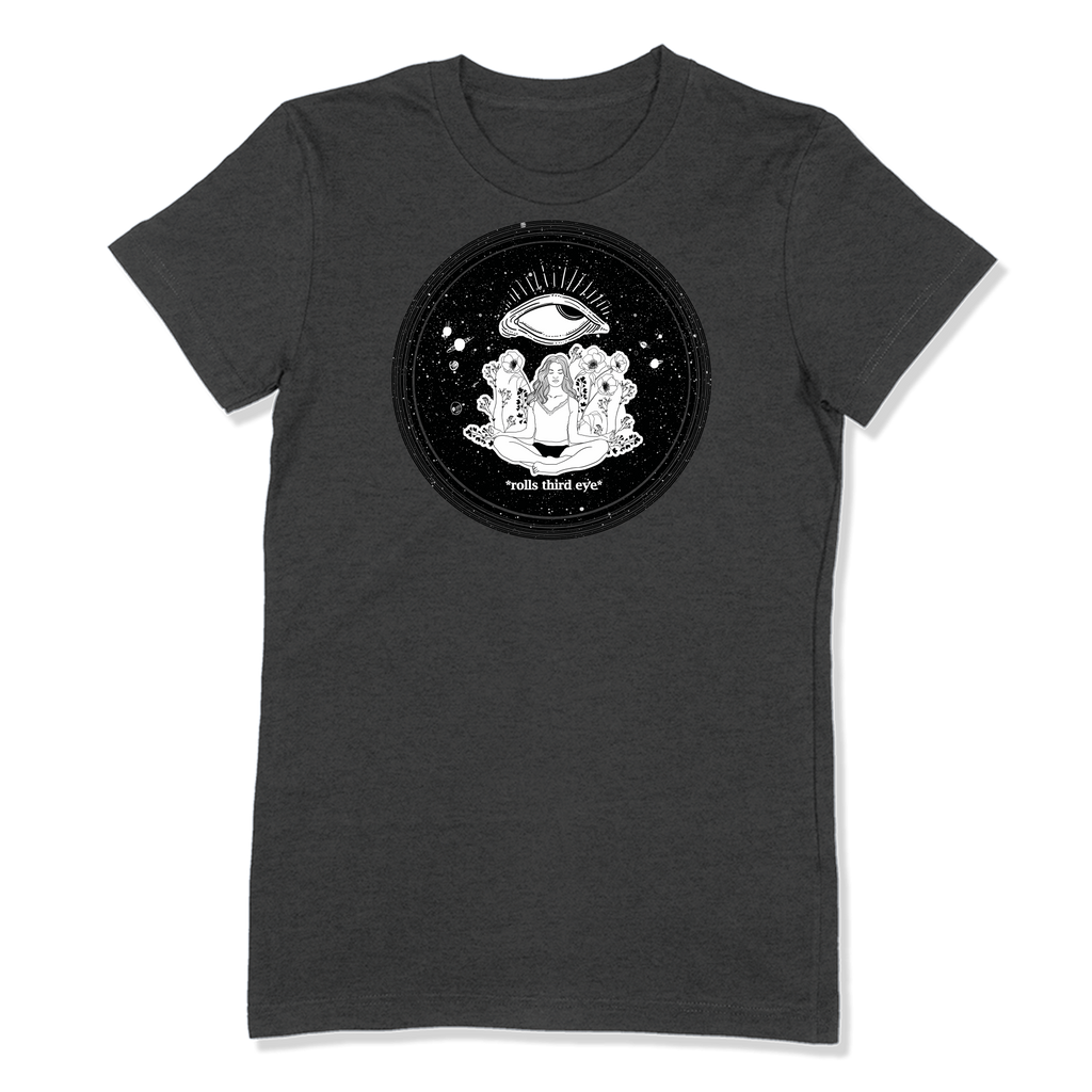 ROLLS 3RD EYE - LADIES T-SHIRT LADIES T-SHIRT Dark Grey Heather / S DEARSOUL
