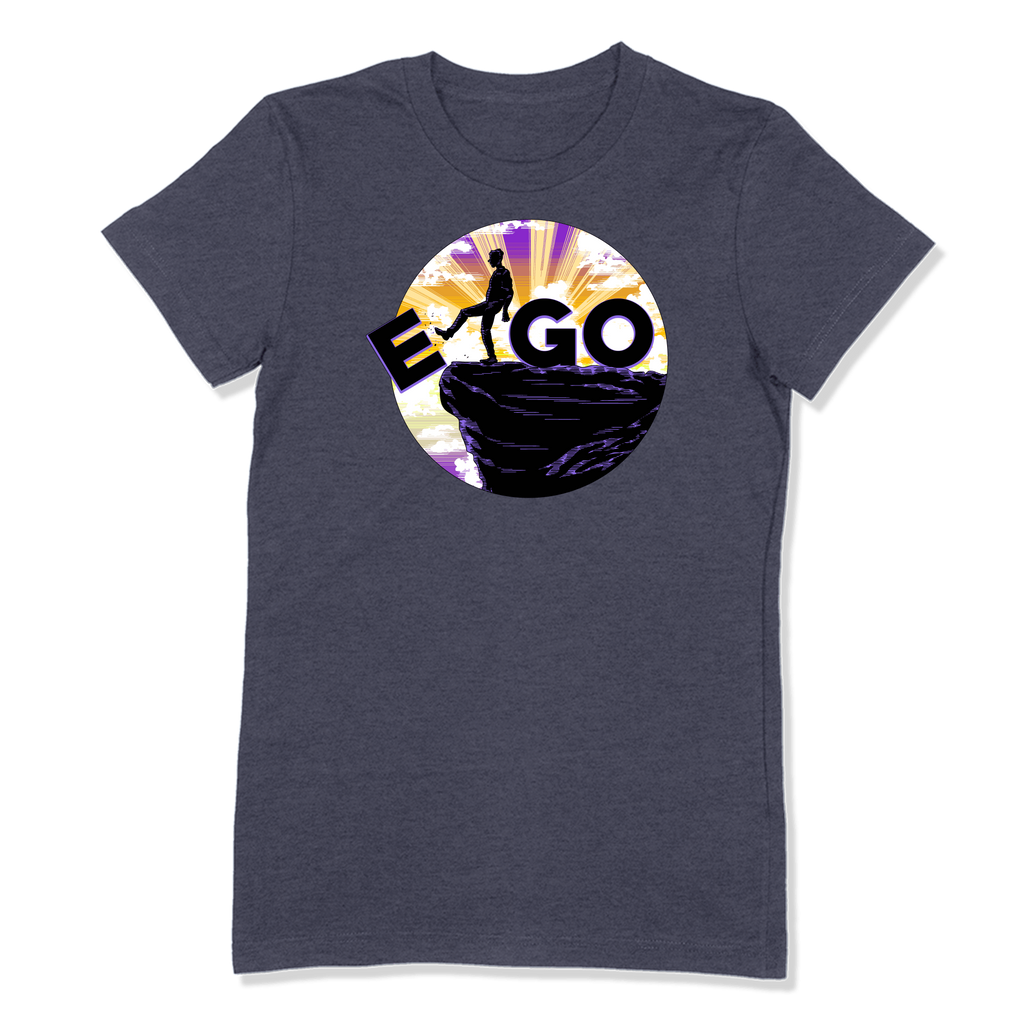 E-GO - LADIES T-SHIRT LADIES T-SHIRT Heather Navy / S DEARSOUL