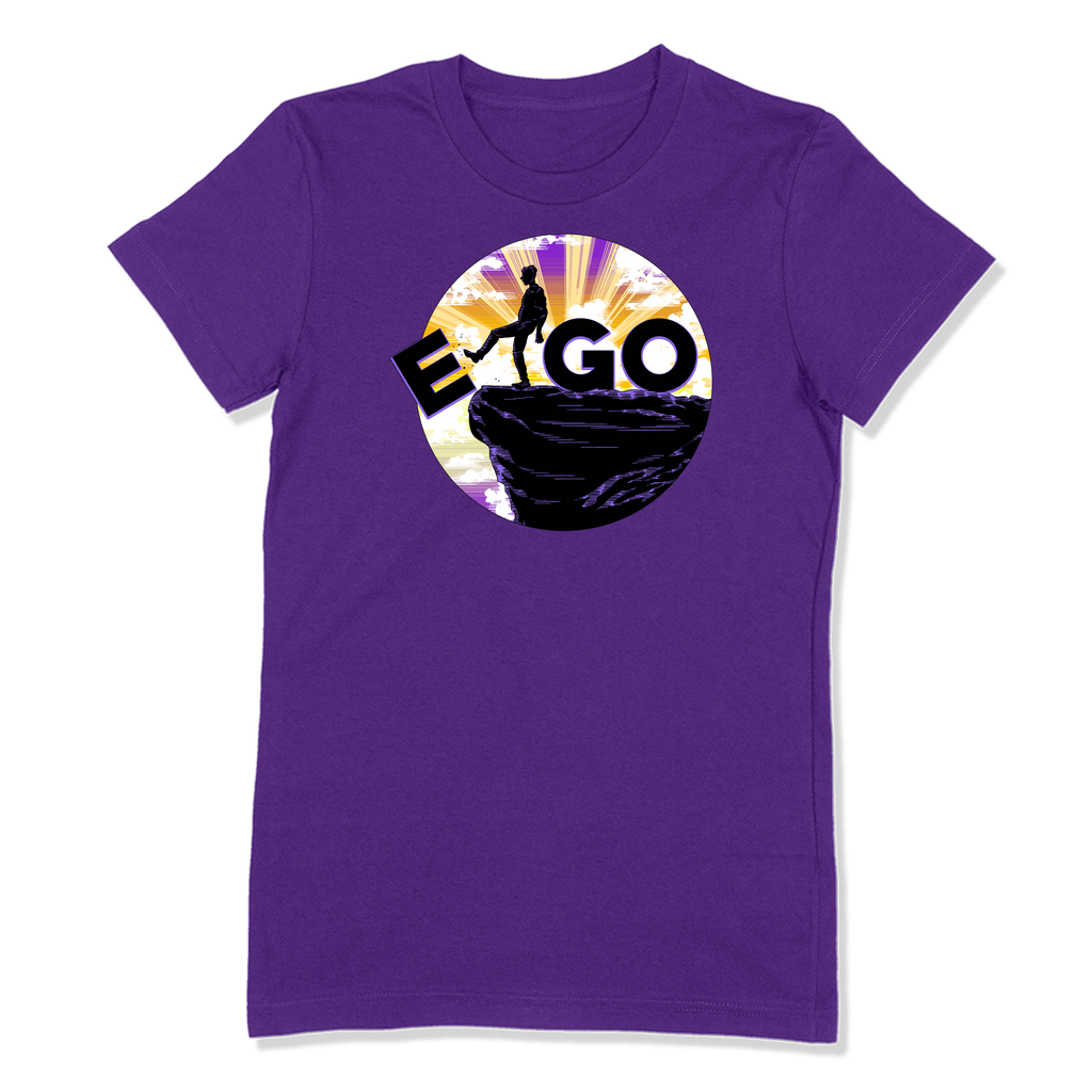 E-GO - LADIES T-SHIRT LADIES T-SHIRT Purple / S DEARSOUL