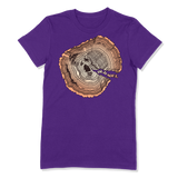 OLD SOUL - LADIES T-SHIRT LADIES T-SHIRT Purple / S DEARSOUL