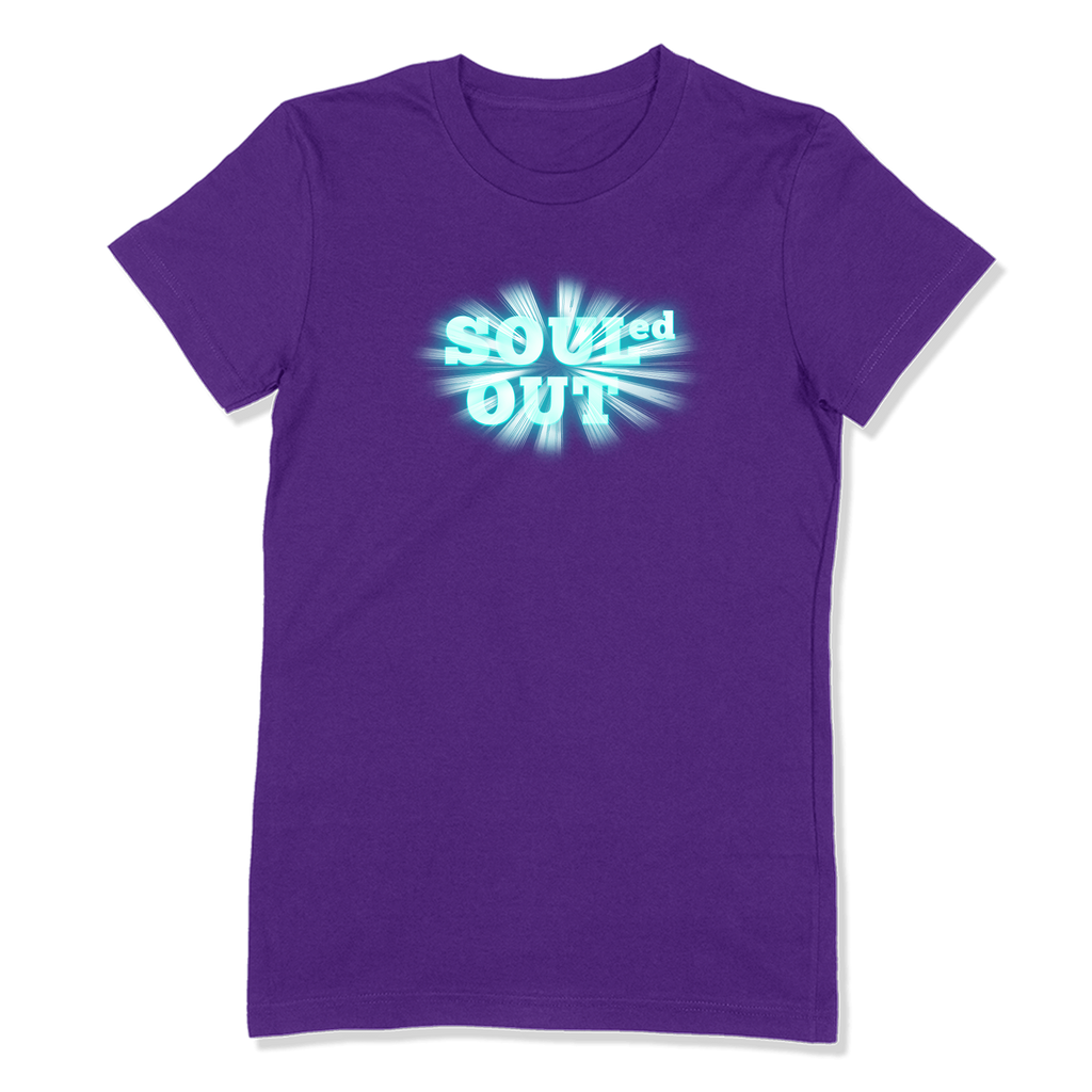 SOULED OUT - LADIES T-SHIRT LADIES T-SHIRT Purple / S DEARSOUL