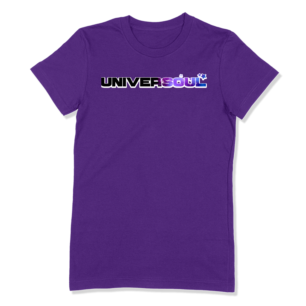 UNIVERSOUL - LADIES T-SHIRT LADIES T-SHIRT Purple / S DEARSOUL