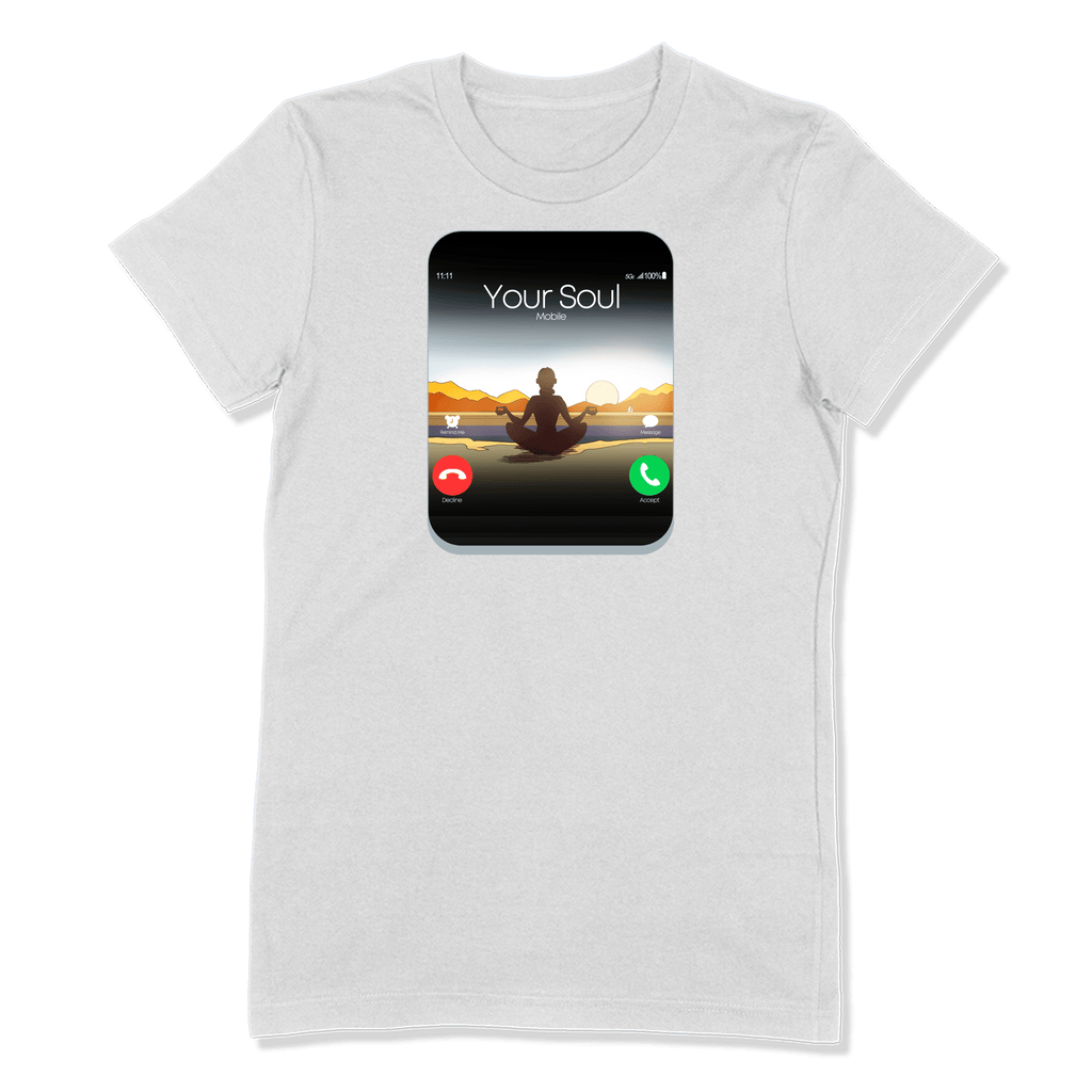 5G CELL PHONE - LADIES T-SHIRT LADIES T-SHIRT White / S DEARSOUL