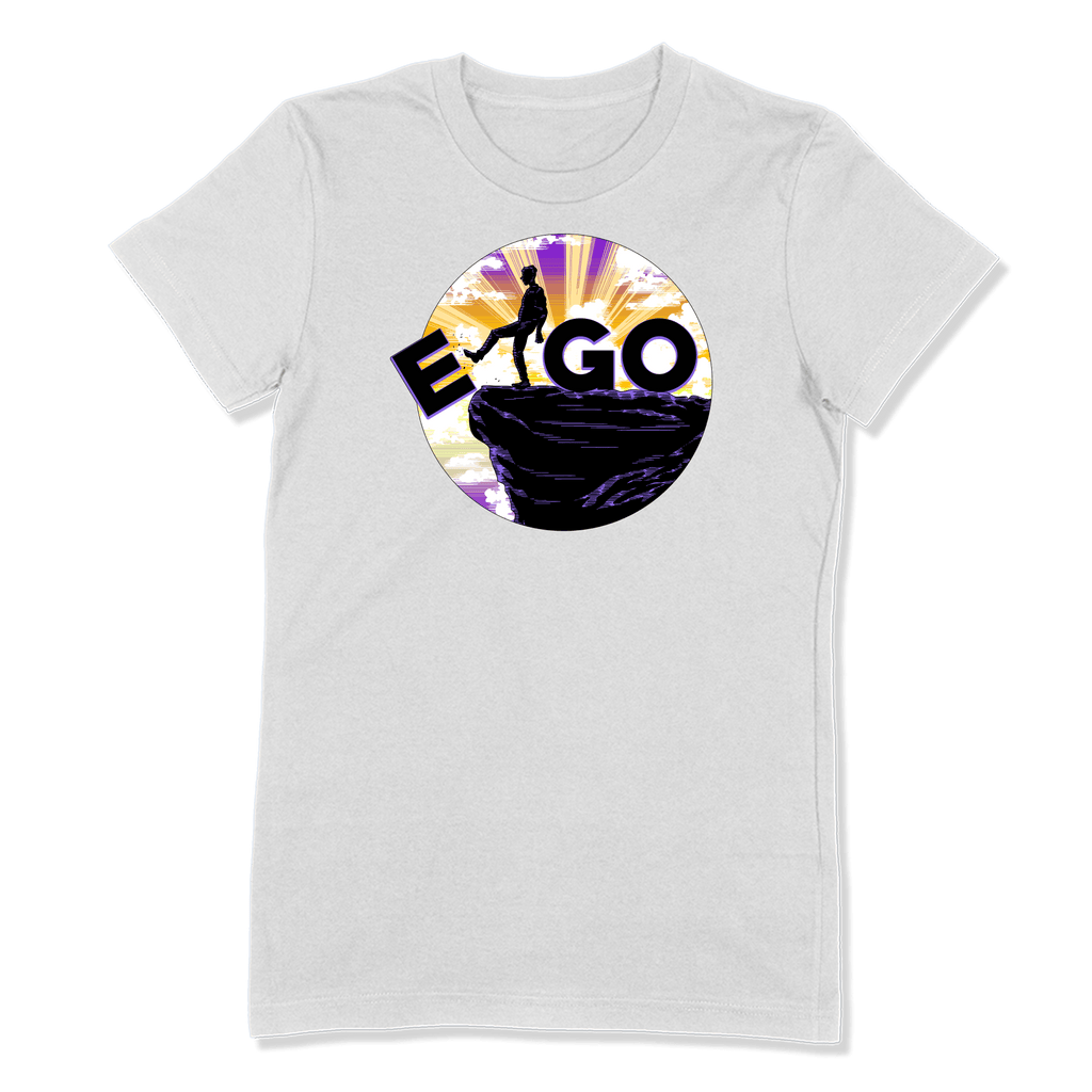 E-GO - LADIES T-SHIRT LADIES T-SHIRT White / S DEARSOUL