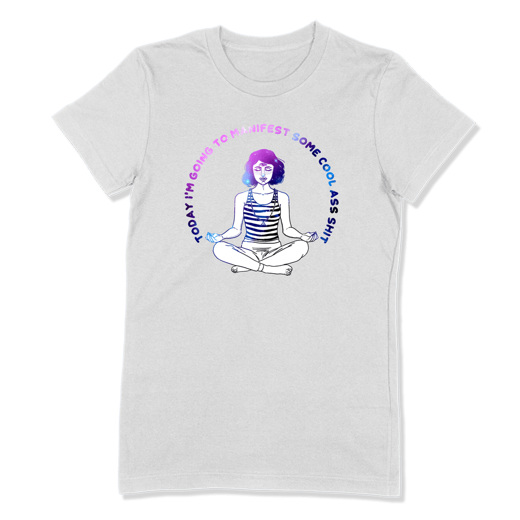 MANIFEST - LADIES T-SHIRT LADIES T-SHIRT White / S DEARSOUL