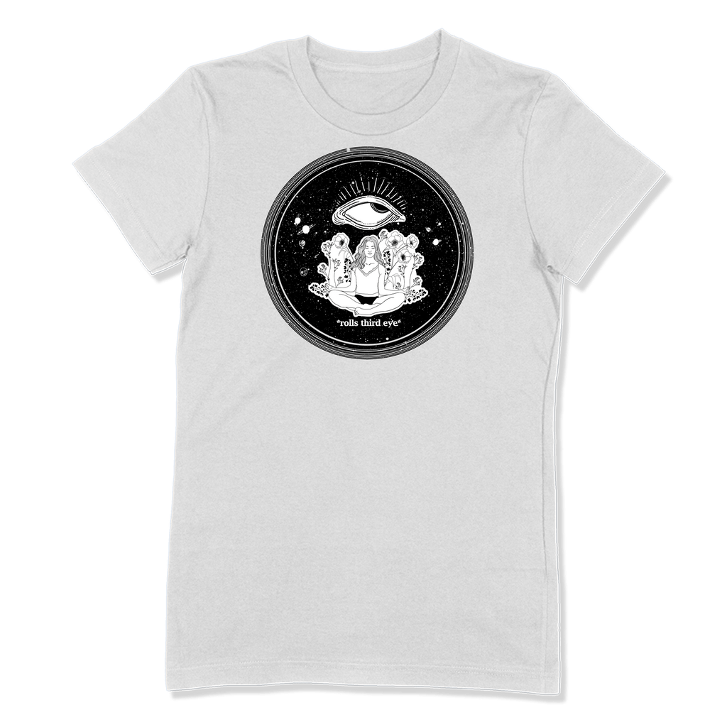 ROLLS 3RD EYE - LADIES T-SHIRT LADIES T-SHIRT White / S DEARSOUL