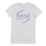 SUPER POWER - LADIES T-SHIRT LADIES T-SHIRT White / S DEARSOUL