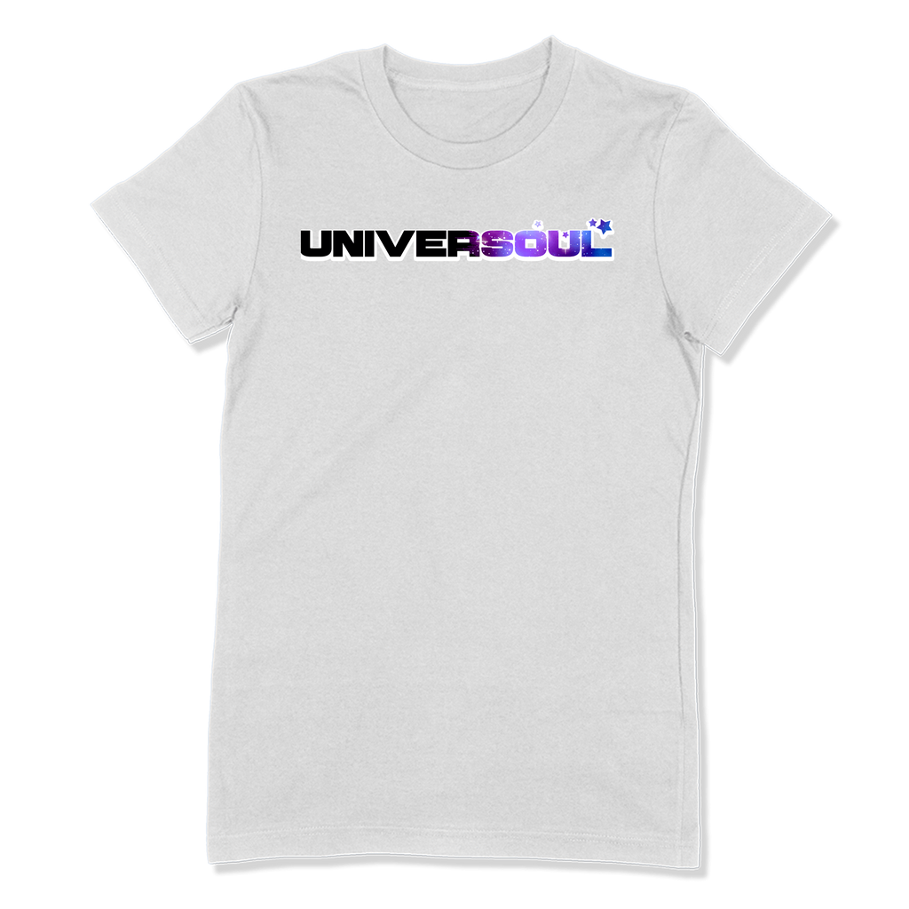 UNIVERSOUL - LADIES T-SHIRT LADIES T-SHIRT White / S DEARSOUL