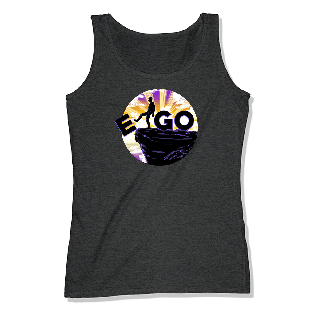 E-GO - LADIES TANK TOP LADIES TANK Charcoal Heather / XS DEARSOUL