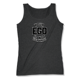 YOUR EGO NOT AMIGO - LADIES TANK TOP LADIES TANK Charcoal Heather / XS DEARSOUL