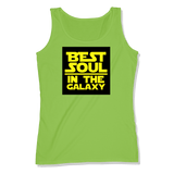 BEST SOUL IN GALAXY - LADIES TANK TOP LADIES TANK Lime Shock / XS DEARSOUL