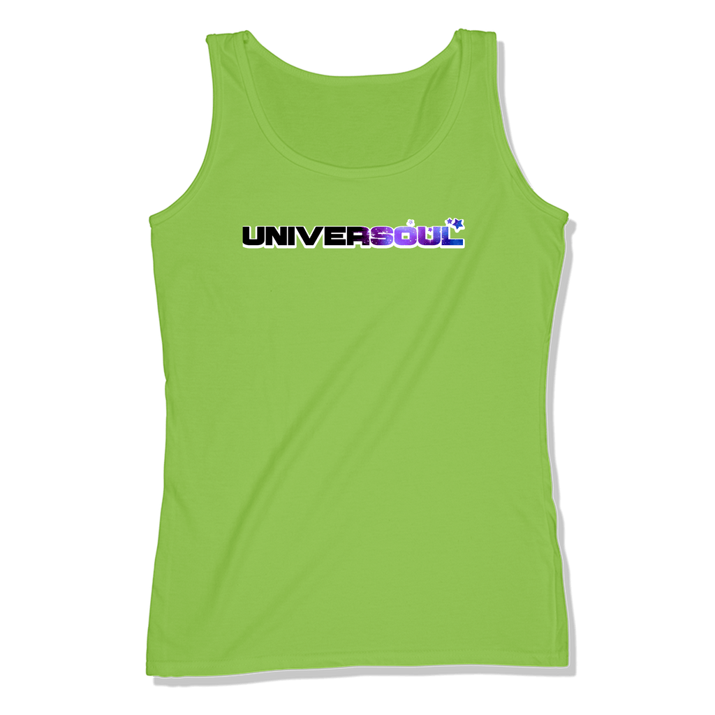 UNIVERSOUL - LADIES TANK TOP LADIES TANK Lime Shock / XS DEARSOUL