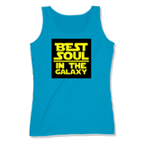 BEST SOUL IN GALAXY - LADIES TANK TOP LADIES TANK Sapphire / XS DEARSOUL