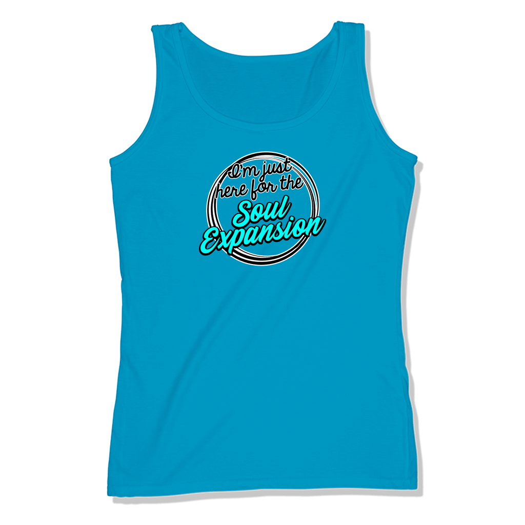 I'M JUST HERE FOR THE SOUL EXPANSION - LADIES TANK TOP LADIES TANK Sapphire / XS DEARSOUL