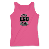 YOUR EGO NOT AMIGO - LADIES TANK TOP LADIES TANK Wild Raspberry / XS DEARSOUL