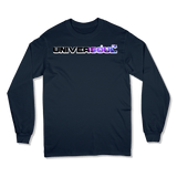UNIVERSOUL - LONG SLEEVE T-SHIRT LONG-SLEEVE-SHIRTS Navy / S DEARSOUL