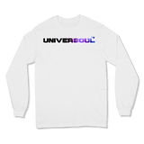 UNIVERSOUL - LONG SLEEVE T-SHIRT LONG-SLEEVE-SHIRTS White / S DEARSOUL