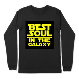 BEST SOUL IN GALAXY - LONG SLEEVE T-SHIRT LONG SLEEVE T-SHIRT Black / S DEARSOUL