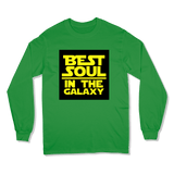 BEST SOUL IN GALAXY - LONG SLEEVE T-SHIRT LONG SLEEVE T-SHIRT Irish Green / S DEARSOUL