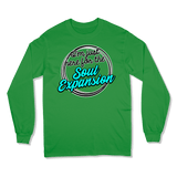 I'M JUST HERE FOR THE SOUL EXPANSION - LONG SLEEVE T-SHIRT LONG SLEEVE T-SHIRT Irish Green / S DEARSOUL