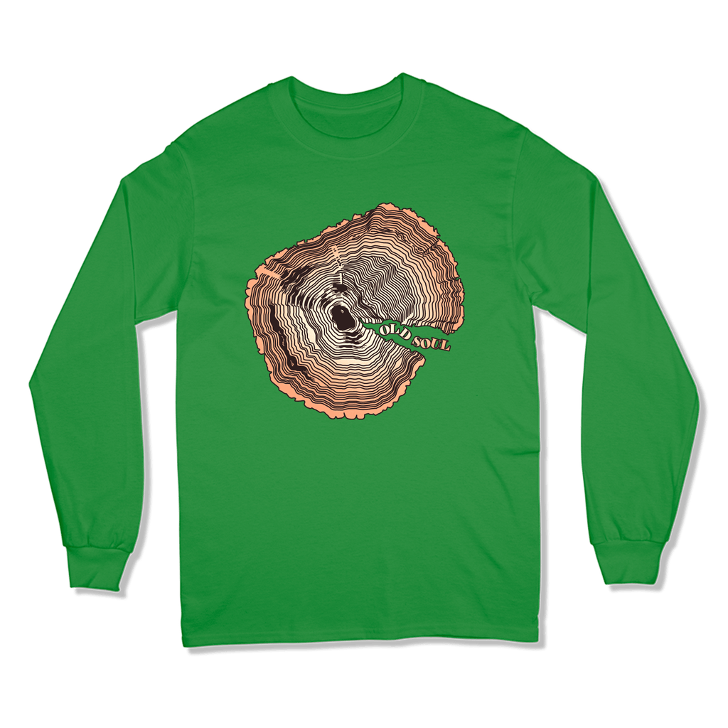 OLD SOUL - LONG SLEEVE T-SHIRT LONG SLEEVE T-SHIRT Irish Green / S DEARSOUL