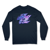 BE THE ENERGY YOU WANT - LONG SLEEVE T-SHIRT LONG SLEEVE T-SHIRT Navy / S DEARSOUL