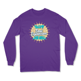 ALL I CARE ABOUT IS SOUL EXPANSION - LONG SLEEVE T-SHIRT LONG SLEEVE T-SHIRT Purple / S DEARSOUL