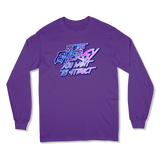 BE THE ENERGY YOU WANT - LONG SLEEVE T-SHIRT LONG SLEEVE T-SHIRT Purple / S DEARSOUL